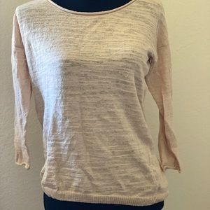 Lightweight Cream J Crew Sweater